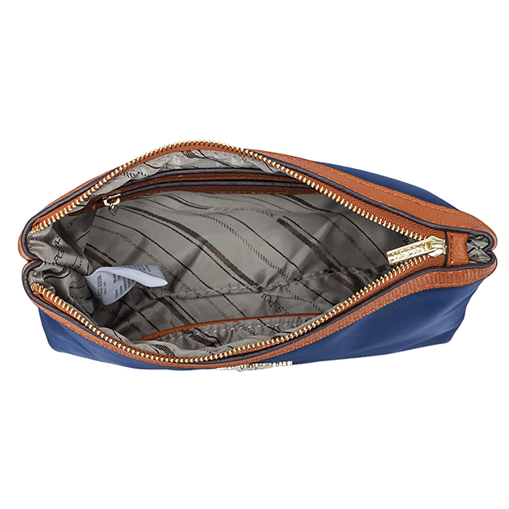 254c573053 NEW US Polo Assn. Houston S. Beauty Handbag Fashion Nylon Zippered ...