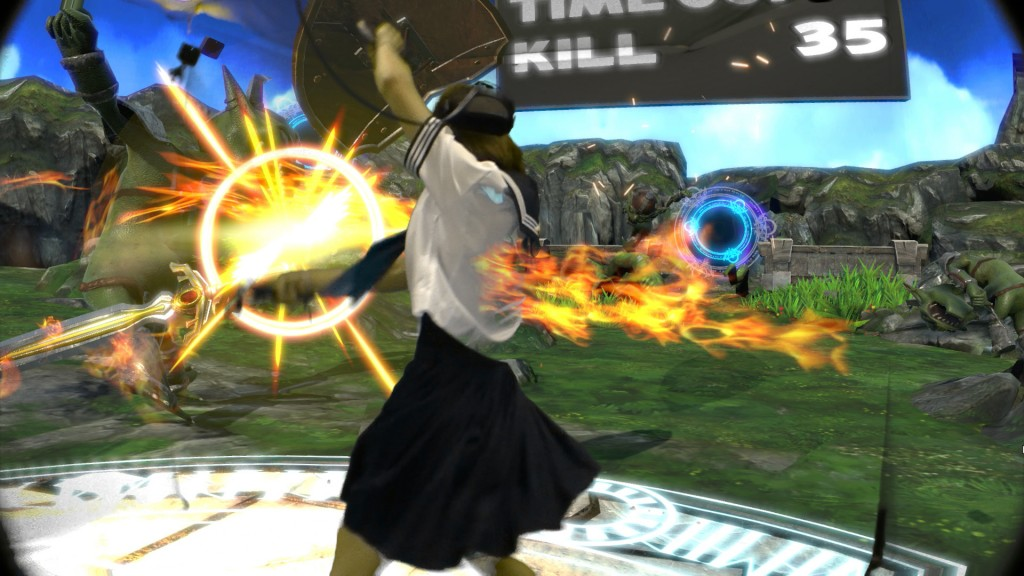 【VR】水手服與女劍士!VR劍擊GAME《Circle Of Saviors》再搞試玩會送HTC VIVE!