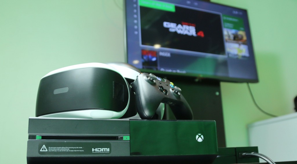 【PSVR實測】玩埋PC、XboxOne遊戲!?PSVR隨時變私人巨芒影院!