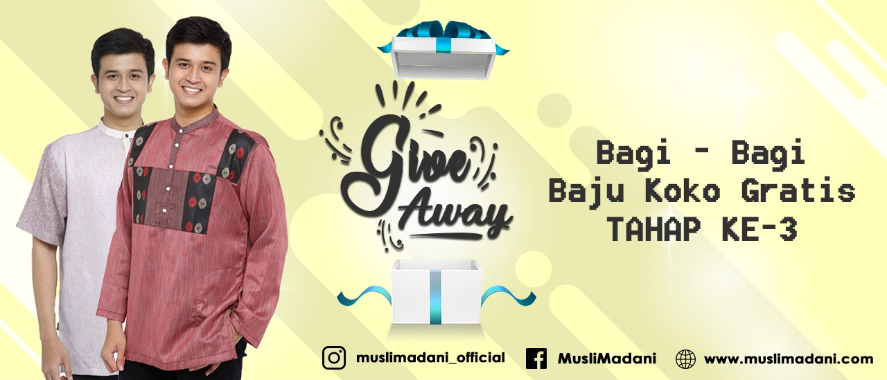 Pengumuman Pemenang Tahap 3 Event Give Away Juli 2019