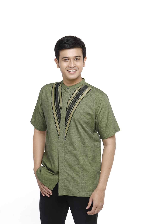 Baju Koko R-1122 Lengan Pendek