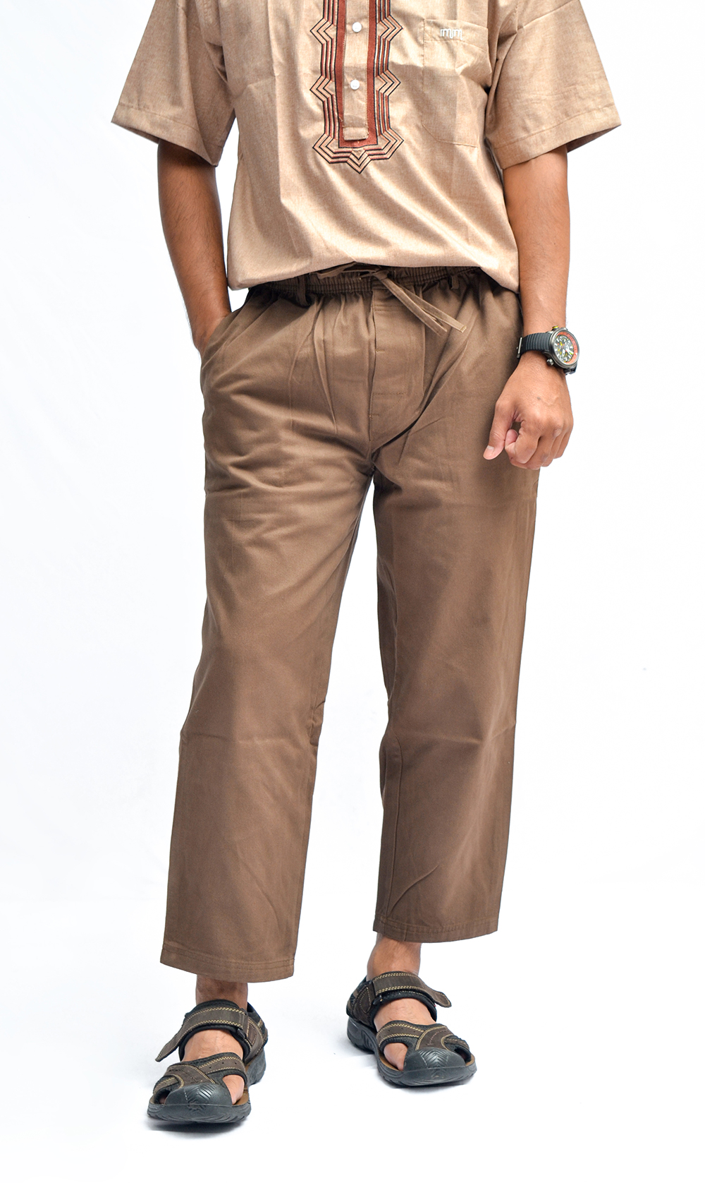 CS-007 Celana Sirwal Coklat