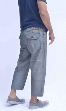 CS-001 Celana Sirwal Abu-abu Muda