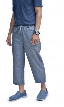CS-001 Celana Sirwal Biru