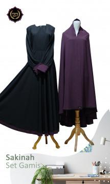 Sakinah hitam ungu