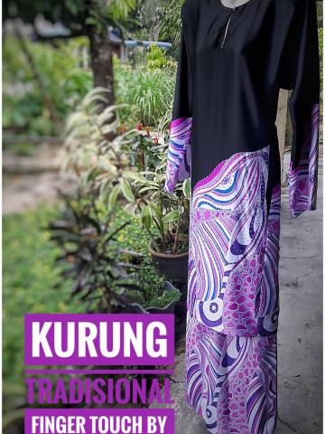Photo 2 of Baju kurung tradisional TP-68001 Menjahit baju kurung Tradisional. Menjahit baju sekolah. Menerima tempahan jahit pukal.