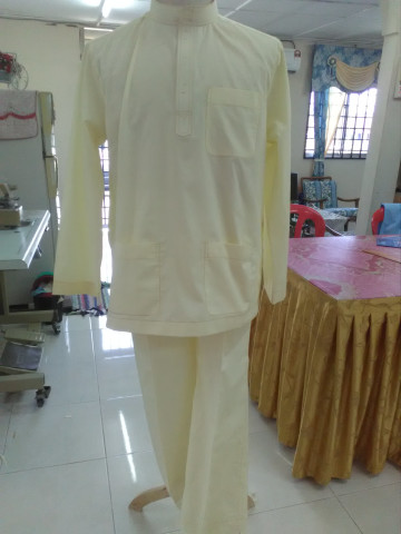 D216 - Hidayah rita, Moden n bergaya- material cotton Upah jahit rm90