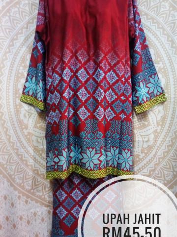 Photo 2 of Baju kurung tradisional TP-268001 Baju kurung tradisional