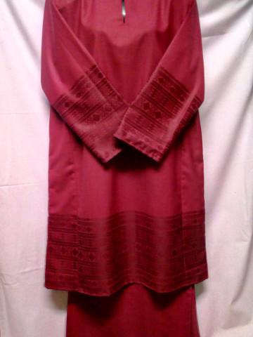 Photo 3 of Baju kurung tradisional TP-268001 Baju kurung tradisional