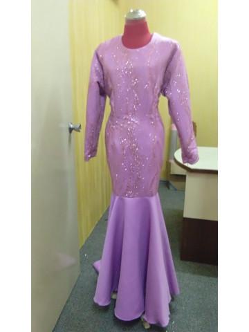 Photo 1 of Dress glitter DP-001 Dress pengantin. Material dutchess,glitter lace.