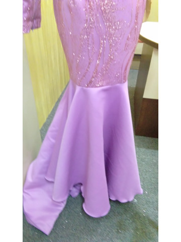 Photo 2 of Dress glitter DP-001 Dress pengantin. Material dutchess,glitter lace.