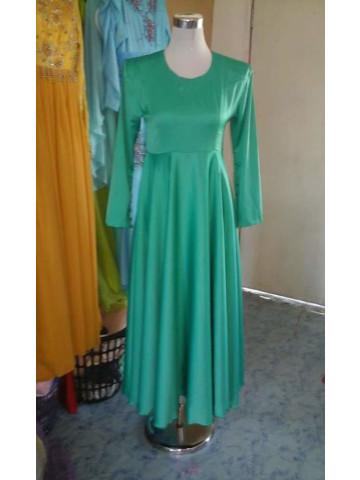 Photo 1 of PLAIN DRESS DP-003 Dress peplum... Cutt pinggang