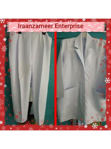 Photo 3 of Uniform jururawat TP-368004 Uniform jururawat  Baju pada bahagian kolar dijahit seperti blazer