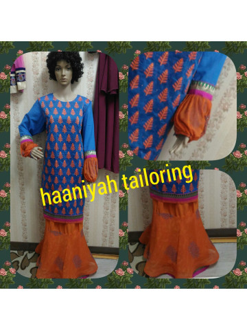 Photo 1 of  TP-372001 Baju kurung moden dewasa