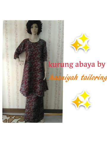 Photo 3 of  TP-372001 Baju kurung moden dewasa