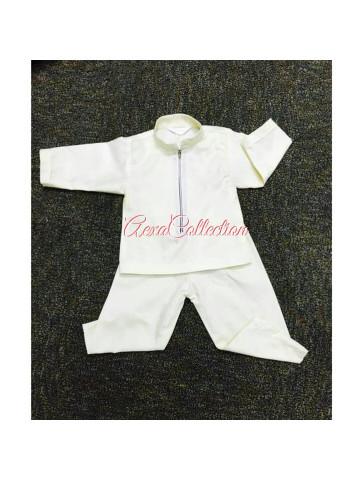 Photo 2 of Aiza Shafiqa TP-328001 -Baju kurung , dress budak (budak perempuan 3-6m-7-8y)  - Baju melayu johor (budak laki 3-6m-7-8y) -Baju kurung modern , peplum , tradisional (adult)