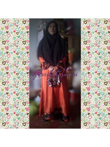 Photo 2 of Jubah TP-260004 Jubah lace.