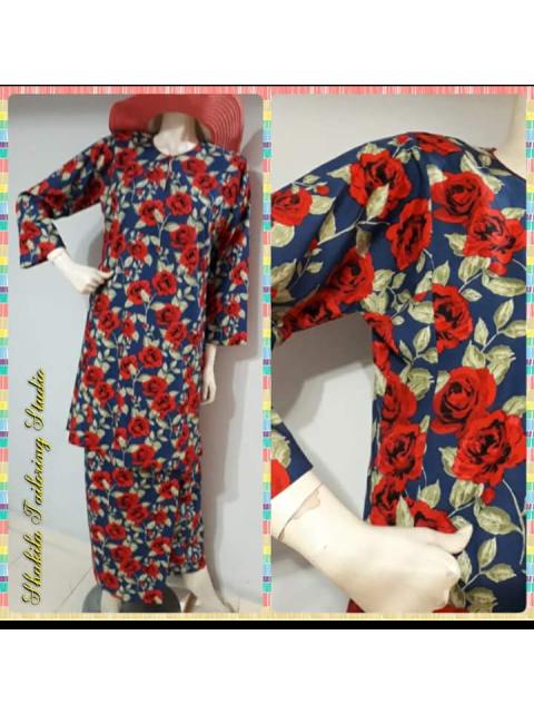 Kurung pahang, kain lipat batik TP-393007