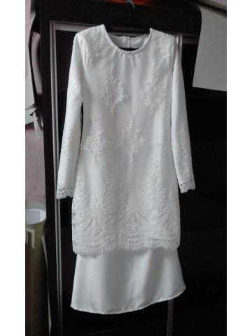 Photo 2 of Baju nikah TP-290002 Tempahan baju sahaja...lain2 tambahan seperti manik bincang boleh req