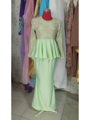 Photo 1 of Peplum top lace PL-001 Top peplum lace. Kain duyung