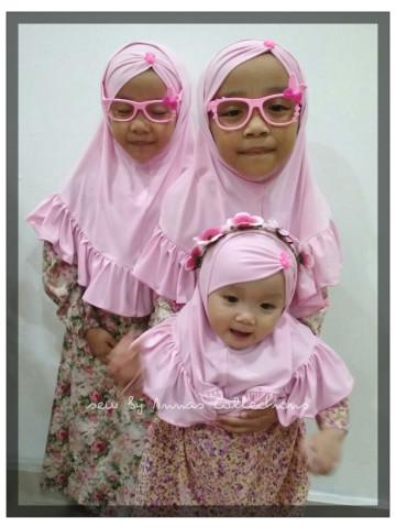 Photo 1 of Kids sarung hijab TP-412003 Material kain lycra