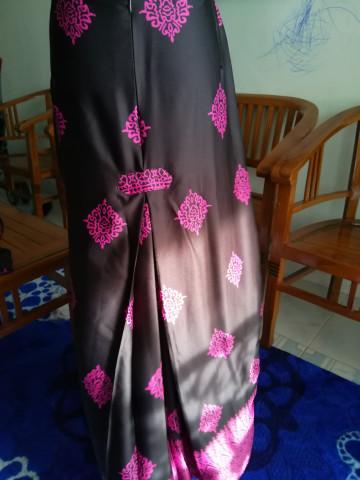 Photo 2 of Kurung moden TP-411001 Baju kurung moden + kain kipas belakang