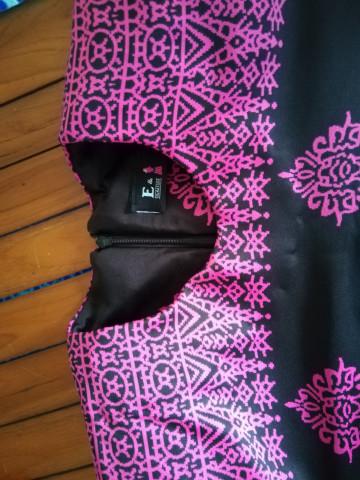 Photo 3 of Kurung moden TP-411001 Baju kurung moden + kain kipas belakang
