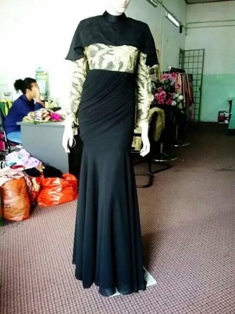 Dress / kaftan / kurung moden TP-389002