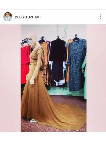TP-389003 - Dress, Tempahan Raya Sudah Dibuka  wechat - yasserazman Instagram - yasserazman Whatsapp - 0182209489  Tempahan akan ditutup pada PENGHUJUNG BULAN MARCH..