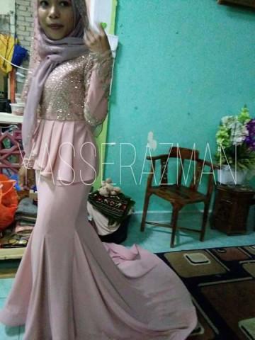 Photo 2 of Dress TP-389003 Tempahan Raya Sudah Dibuka  wechat - yasserazman Instagram - yasserazman Whatsapp - 0182209489  Tempahan akan ditutup pada PENGHUJUNG BULAN MARCH..