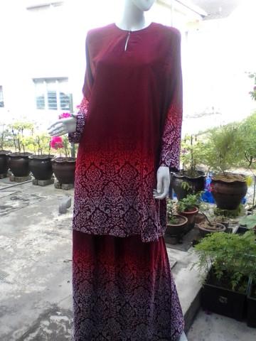 Photo 1 of Baju kurung TP-392001 Baju kurung pesak dan kain johor