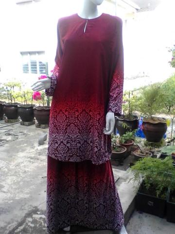 Photo 3 of Baju kurung TP-392001 Baju kurung pesak dan kain johor
