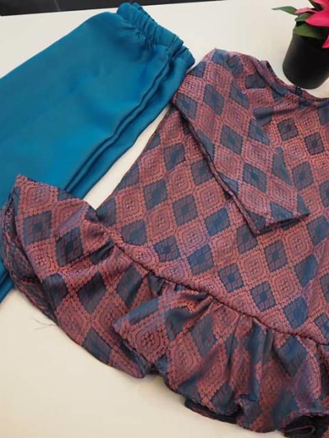 Baju Kurung Moden Kid TP-388009