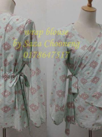 TP-53005 - BLOUSE WANITA, pelbagai jenis fesyen blouse