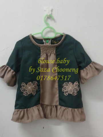 TP-53006 - blouse budak, pelbagai jenis fesyen