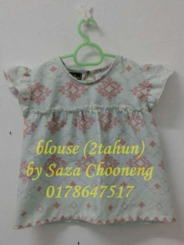 Photo 3 of blouse budak TP-53006 pelbagai jenis fesyen