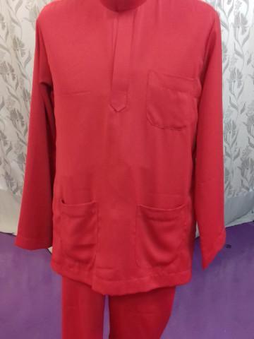 Photo 2 of Baju Lelaki TP-460001 Baju Melayu Tradisional dan kurta pendek