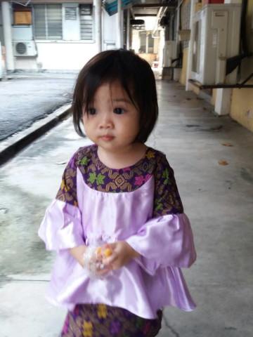 Photo 1 of Kurung Peplum TP-471001 Design baju kurung peplum kanak2 perempuan