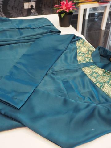 Photo 3 of Baju Melayu Slim Fit (Tunang/nikah) TP-388044 untuk menempah Jahit individu @ Pukal  sila berhubung di talian 0193780293