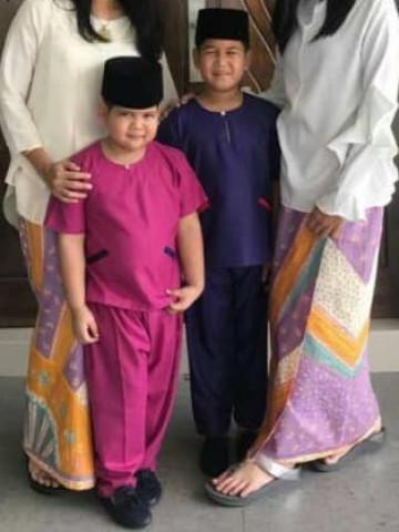 Photo 1 of Baju batik / baju Melayu budak TP-445002 Baju batik / kain belah / baju Melayu budak