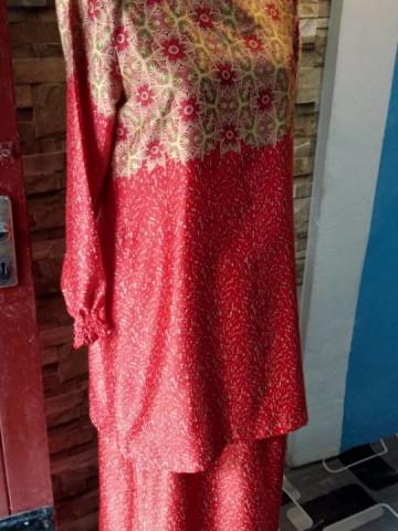 Photo 3 of Baju kurung moden TP-247002 Baju kurung moden Kain lipat belakang