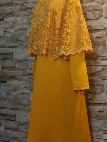 Photo 3 of Jubah with cape TP-247004 Jubah with cape