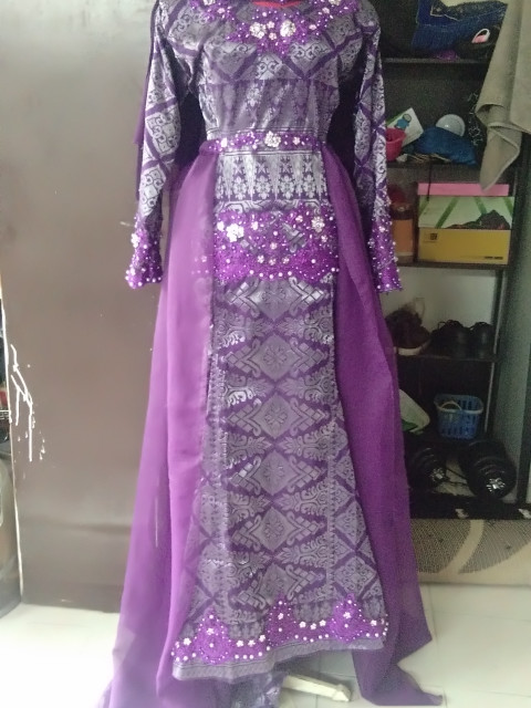 DRESS SONGKET PANEL DP-008P