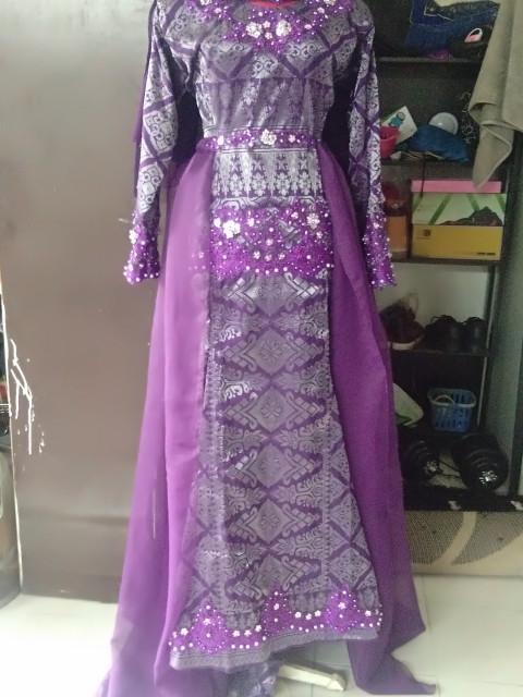 DRESS SONGKET PANEL DP-008P