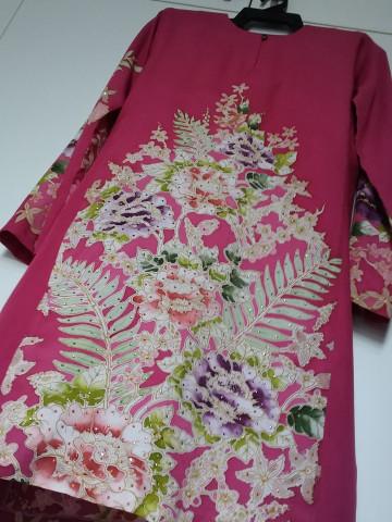 Photo 1 of Sweet stitches Ssb0002 Baju kurung pahang Batik
