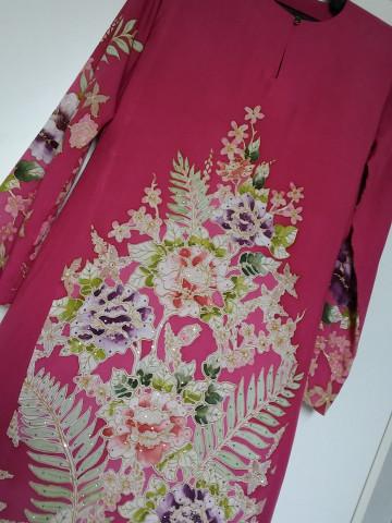 Photo 3 of Sweet stitches Ssb0002 Baju kurung pahang Batik