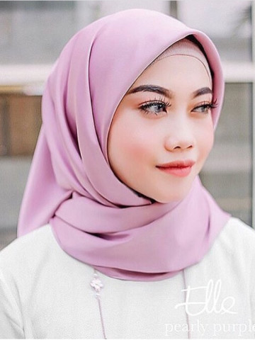 Photo 3 of Bawal TP-556001 Tudung Bawal Dull Satin - Plain