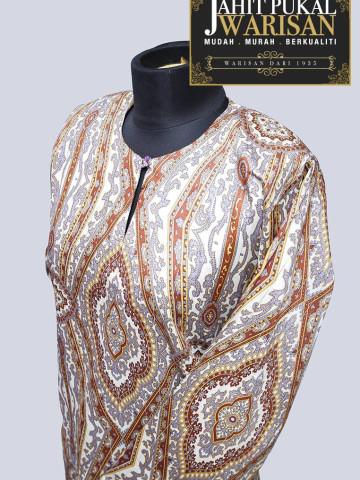 Photo 2 of Baju kurung tradisional TP-598009 Baju kurung tradisional