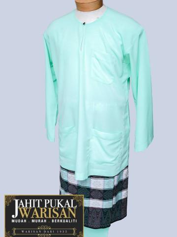 TP-598011 - baju melayu teluk belanga, baju melayu teluk belanga