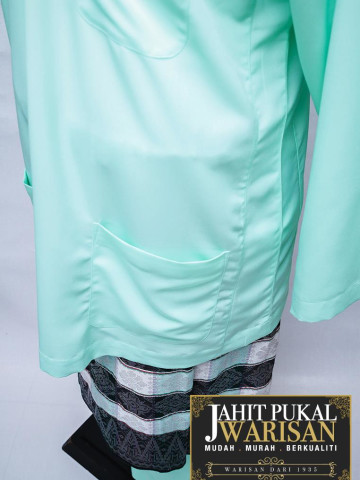 TP-598011 baju melayu teluk belanga